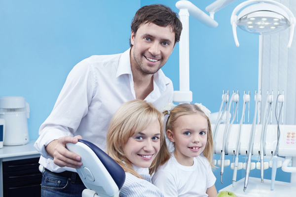Family at Freeport Dentistry